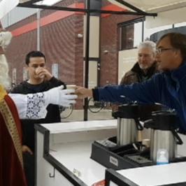 Sinterklaas bezoekt VVD Stede Broec