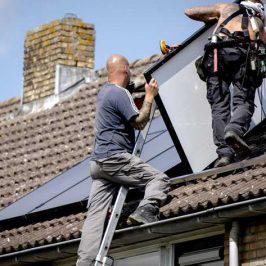 Tel zonnepanelen niet mee bij waardebepaling huis