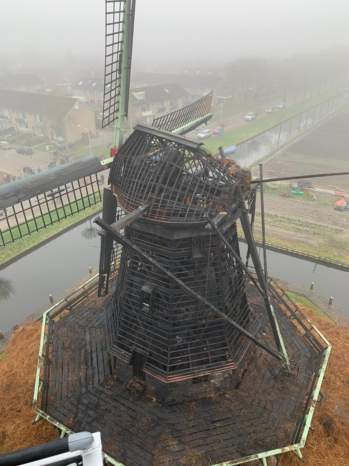 Afgebrande molen Ceres