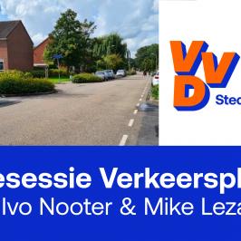 VVD betrekt inwoners en ondernemers bij nieuw Verkeersplan