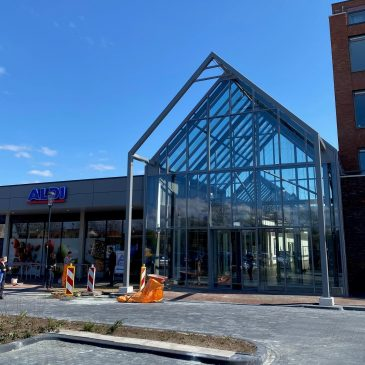 Nieuwe passage Winkelcentrum Streekhof open
