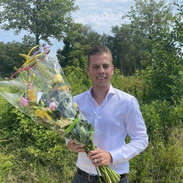 Joey Leeuwinga nieuwe lijsttrekker VVD Stede Broec