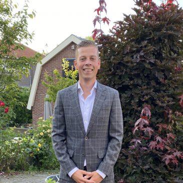 Joey Leeuwinga met frisse moed aan de slag als lijsttrekker